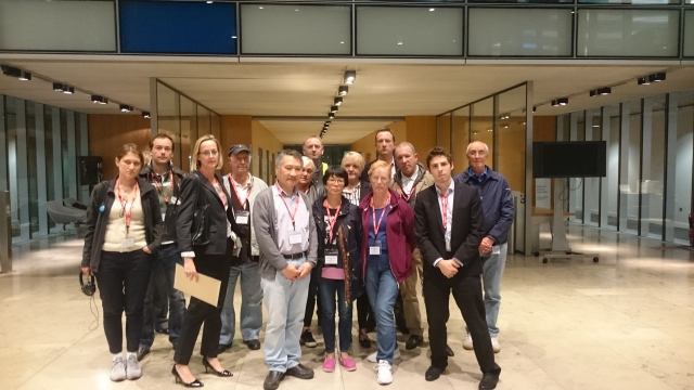Rotherhithe residents at the committee meeting