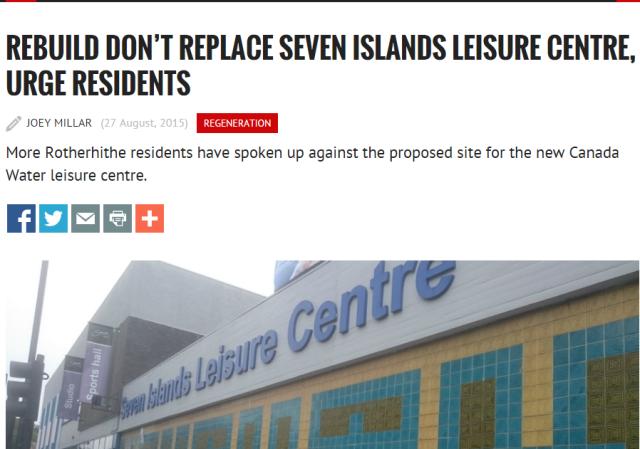 Southwark News story 2